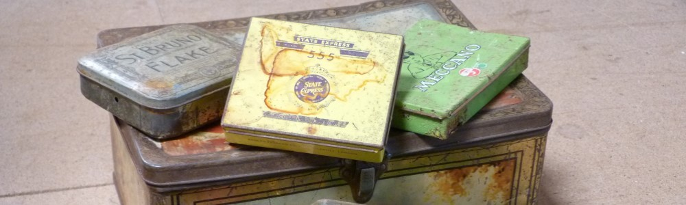 Lyme Bay Auctions Tin Containers